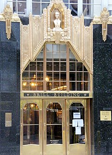 Brill Building office building in New York City