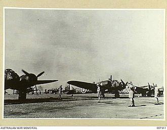 No. 62 Squadron RAF - Bristol Blenheim I bombers from 62 Squadron in Malaya, 1941.