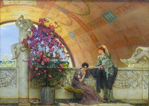 Bristol Museum Tadema unconscious rivals