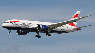 International Airlines Group - British Airways Boeing 787-8