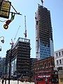 Broadgate Tower under construction 1-5-07.jpg
