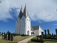 Broager Kirche (Region der Flensburger Förde 3 Juli 2018), Bild 02.jpg