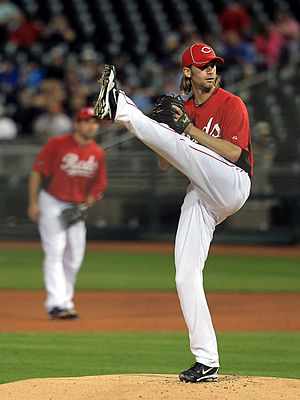 Bronson Arroyo - Arroyo with the Cincinnati Reds in 2011