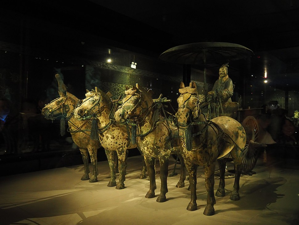 Bronze Chariot and Horses (24163255235)