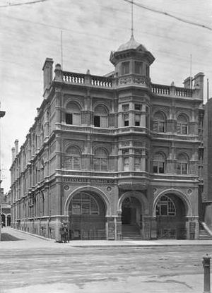 George Brookman - Brookman Building c.1907