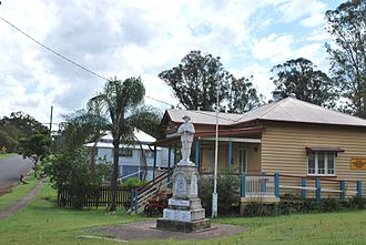Brooweena, Queensland - Brooweena War Memorial, 2008