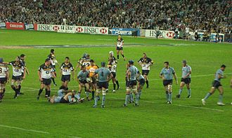 New South Wales Waratahs - NSW Waratahs playing the ACT Brumbies