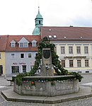 Brunnenschmuck für 23. Osterbrunnensingen in Ruhland 2019 05.jpg