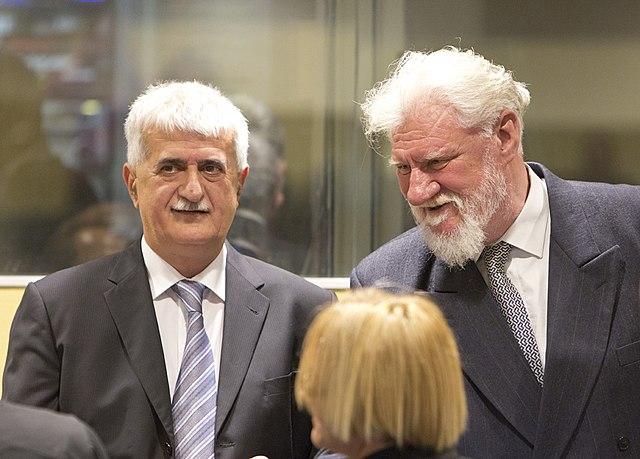 File:Bruno Stojić and Slobodan Praljak (2013).jpg - Wikimedia Commons