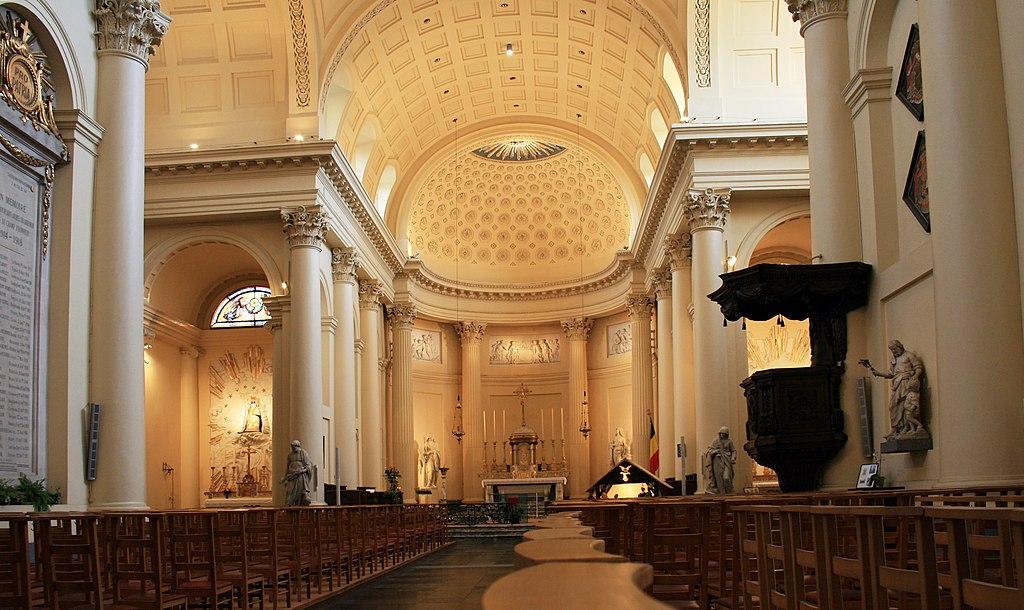 Brusel saint Jacob interier 1.jpg