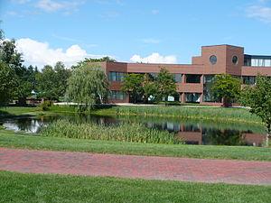 Smithfield, Rhode Island - Bryant University's campus