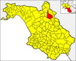 Locatio Volcetii in provincia Salernitana