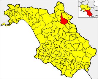 Buccino - Image: Buccino pos SA
