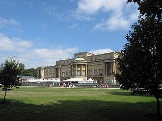 Garden at Buckingham Palace - The garden at Buckingham Palace