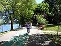 Bucuresti, Romania. PARCUL HERASTRAU. Acum Parcul Regele Mihai I. O frumoasa zi de repaus. (B-II-a-A-18802).jpg