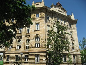 Hungarian National Bank - Image: Budapešť 0937