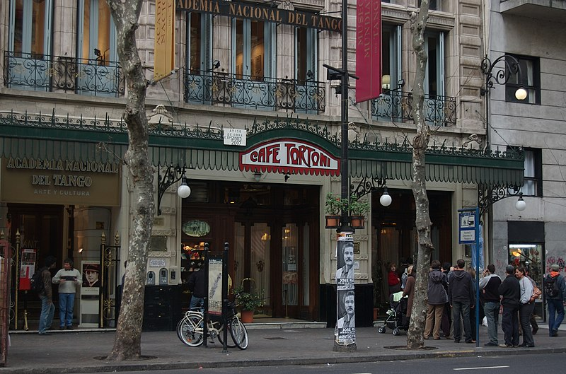 File:Buenos Aires - Avenida de Mayo 825 - Café Tortoni.jpg