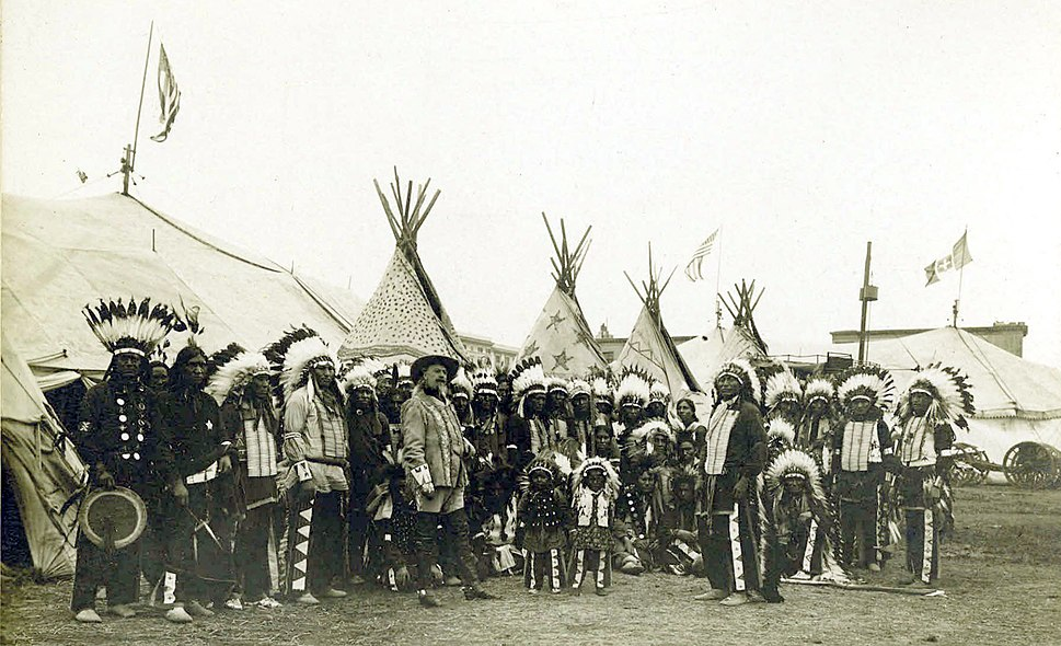 Buffalo Bills Wild West Show, 1890