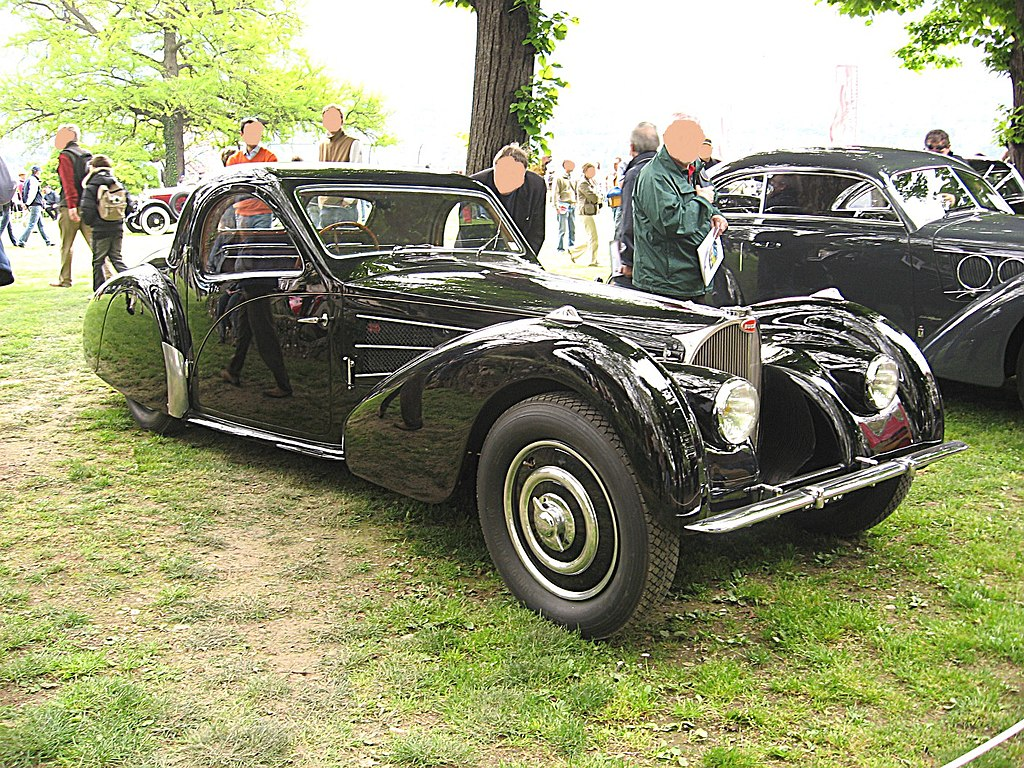 Bugatti Type57-SC-Atalante Front-view