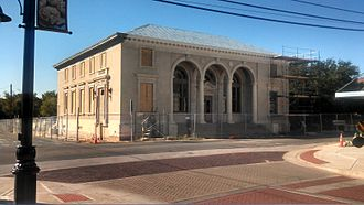 Sulphur Springs, Texas - Building being rehabilitated as the new City Hall