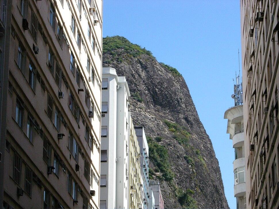 Buildings in Copacabana