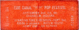Erie Canal Soda Pop Festival 1972 music festival noted for massive turnout and anarchic crowds