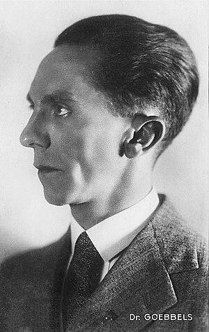 Joseph Goebbels - Portrait of Goebbels