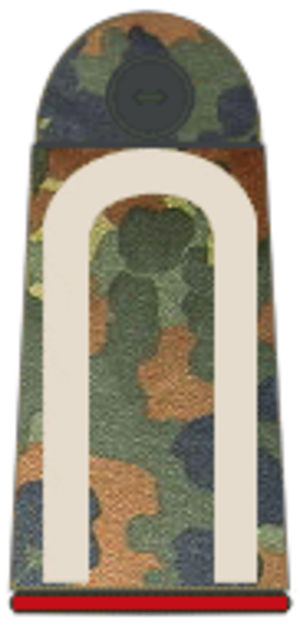 Sergeant - German sergeant (Unteroffizier) shoulder board