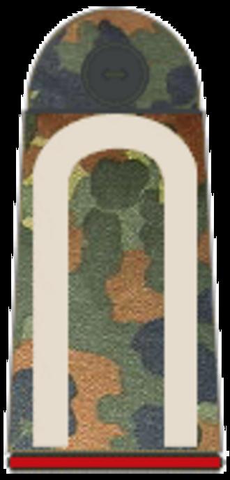 Sergeant - German sergeant (Unteroffizier) shoulder board