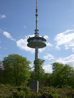 Bungsberg telecommunications tower tower