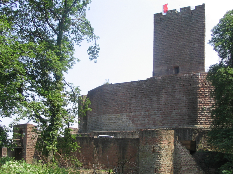 Burg Landeck bei Klingenmünster