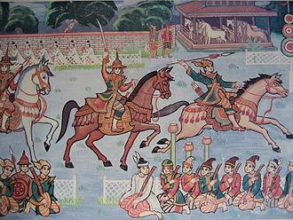 Burmese–Siamese War (1765–67) - Burmese Cavalry