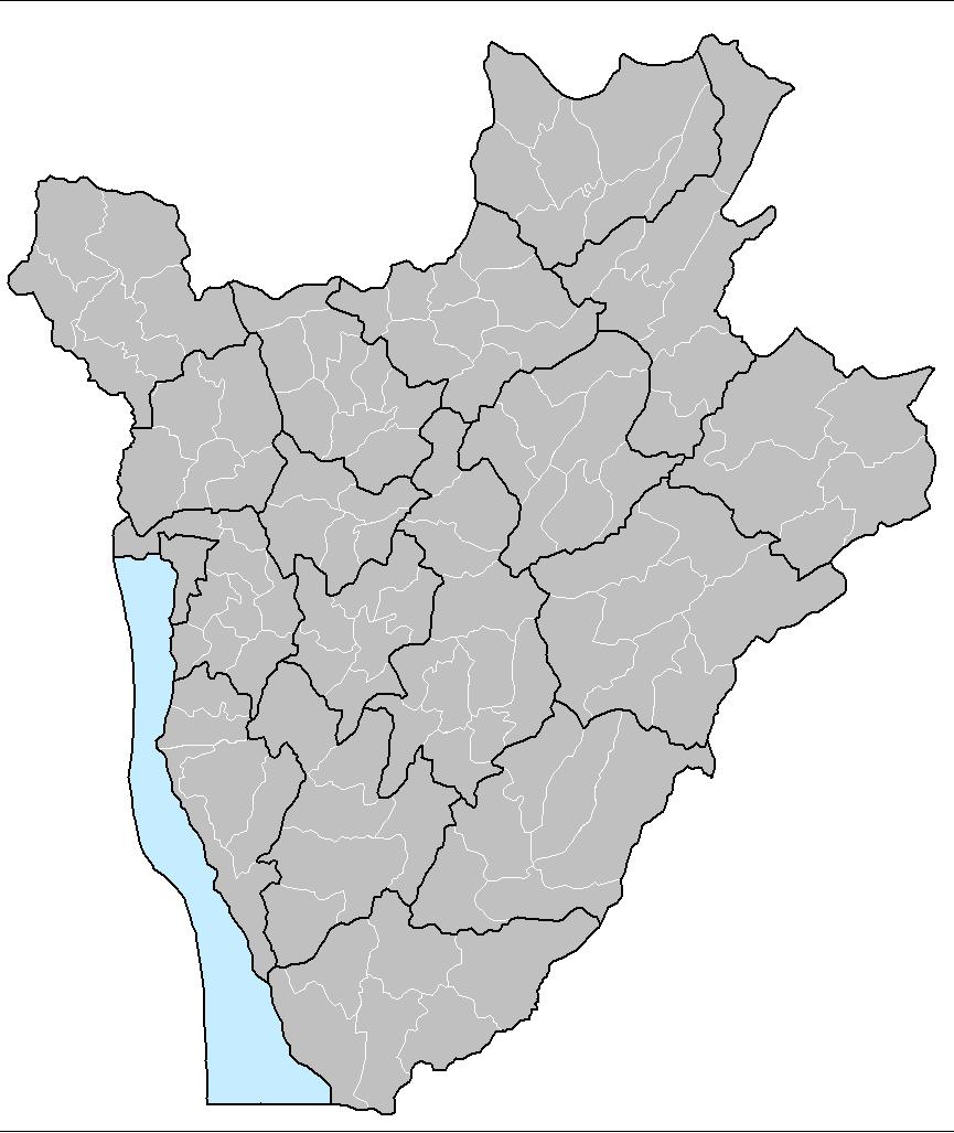 Burundi communes