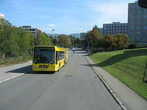Reutlingen - Bus 4 to Hohbuch on Pestalozzistrasse in Reutlingen
