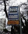 Bus stop at Samad Vurgun (Officers Park).jpg