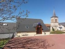 Bussières-près-Pionsat (Puy-de-Dôme) mairie et église.JPG