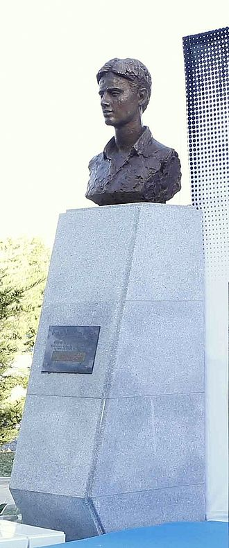 Miguel Ángel Blanco - Miguel Angel Blanco bust in the gardens bearing his name in Madrid