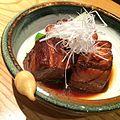 Butabura Kokutuo Nikomi (Black Sugar Simmered Pork Belly) (15627993935).jpg