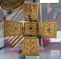 Butter mold, hand-carved, c. 1830, wood - Bennington Museum - Bennington, VT - DSC08657.JPG