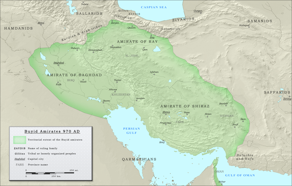 قلمرو آل بویه