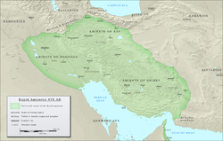 The Buyid dynasty in 970