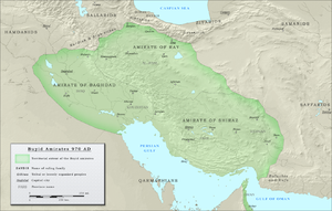 Buyid dynasty - The Buyid dynasty in 970