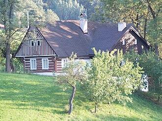 Bystrá nad Jizerou - Timber cottage