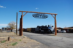 Cumbres and Toltec Scenic Railroad - Image: C&TS Antonito Entrance 2012 10 23