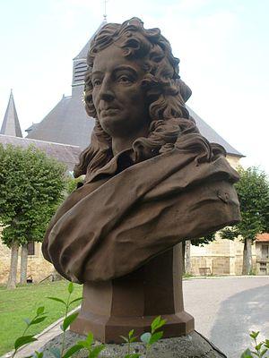 César-Pierre Richelet - César-Pierre Richelet, bust at Cheminon.