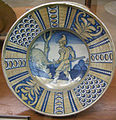 C.sf., toscana, piatto da parata, 1500-1550.JPG