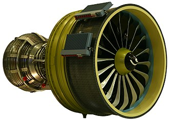 CFM International LEAP - Mockup of a LEAP-X, the early code name of the engine