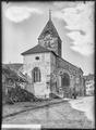 CH-NB - Grandson, Eglise réformée Saint-Jean-Baptiste, vue partielle extérieure - Collection Max van Berchem - EAD-7264.tif