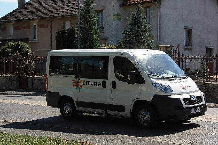 Peugeot Boxer II n°185 du réseau Citura en TAD à Sillery