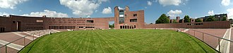 Cork Institute of Technology - Panorama of the central circular courtyard